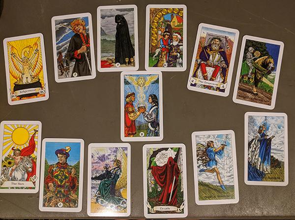 Tarot reading #1