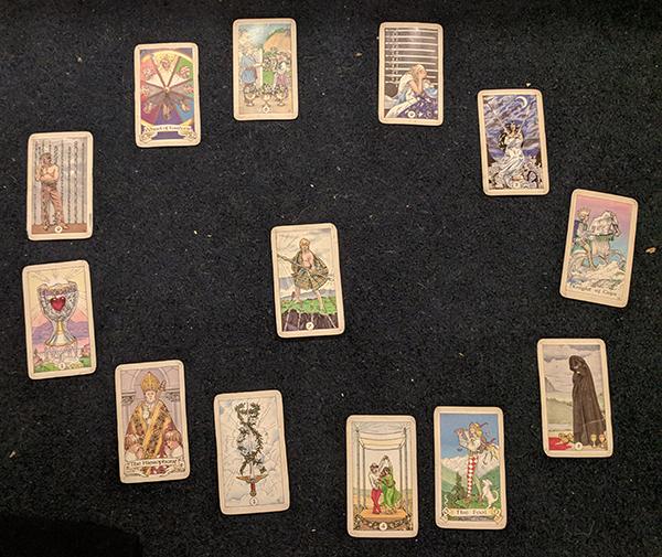 Tarot reading #4