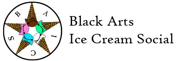 Black Arts Ice Cream Social - more bunny slippers than velvet cloak!