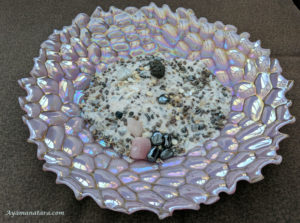 Crystal clearing bowl that assists with transformation and is imbued with Goddess energy