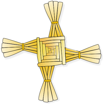 St Brigid, Brid, Maman Brigitte. Briosaghit