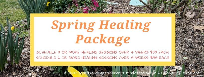 Spring Healing Package